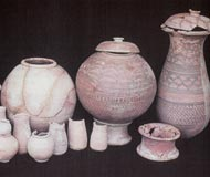 harappa burial pottery