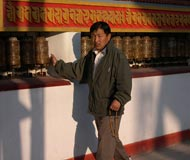 katmandu prayer wheels