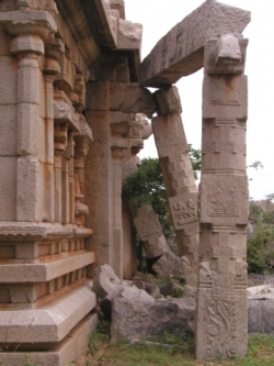 Hampi Temple recieves renovation