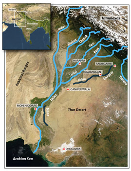 Harappan Rivers